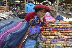 Chinchero, Perú imagen de archivo libre de regalías
