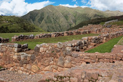 Chinchero ruins in Peru Stock Images