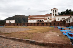 Chinchero square Stock Photography
