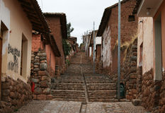 Chinchero steps Royalty Free Stock Image