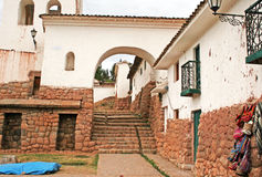 Chinchero town Royalty Free Stock Images