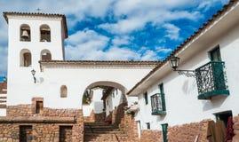 Chincheros town peruvian Andes Cuzco Peru. Chincheros town in the peruvian Andes at Cuzco Peru stock images