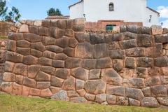 Chincheros town peruvian Andes  Cuzco Peru Stock Photography