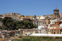Chinchilla de Monte Argon - Spain Stock Photos