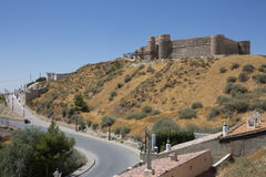 Chinchilla de Monte Argon - Spain Royalty Free Stock Photography