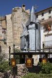 Chinchilla de Monte l'Argon - la Spagna Fotografia Stock Libera da Diritti