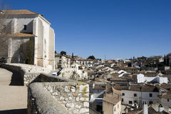 Chinchón - View from the church de la Asuncion Stock Photography