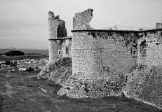Chinchon城堡 库存照片