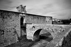 Chinchon城堡 库存图片