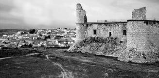 Chinchon马德里城堡  西班牙 免版税库存照片