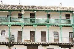 Chinchon, ισπανικός δήμος διάσημος για παλαιό μεσαιωνικό squar του Στοκ φωτογραφίες με δικαίωμα ελεύθερης χρήσης