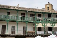 Chinchon, ισπανικός δήμος διάσημος για παλαιό μεσαιωνικό squar του Στοκ εικόνα με δικαίωμα ελεύθερης χρήσης
