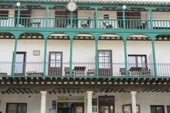 Chinchon, ισπανικός δήμος διάσημος για παλαιό μεσαιωνικό squar του Στοκ Εικόνα