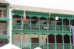 Chinchon, ισπανικός δήμος διάσημος για παλαιό μεσαιωνικό squar του Στοκ εικόνες με δικαίωμα ελεύθερης χρήσης