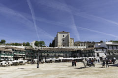 Chinchon, Madrid Stock Foto's