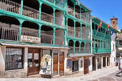 Chinchon Spain stock image