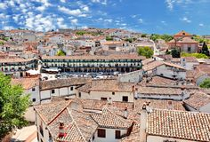 Chinchon Spain stock photos