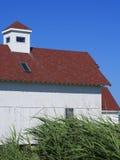 Chincoteague sjösidahem Arkivbild