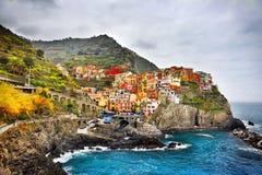 Chincqueterre Italia Europa do beira-mar Foto de Stock
