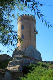Chindia塔在Targoviste,罗马尼亚 免版税库存图片
