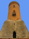 Chindia torn i Targoviste, Rumänien Arkivbild