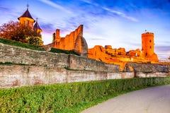 Chindia torn, Targoviste, Rumänien arkivfoto