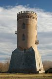 Chindia Tower from Royal Court - Targoviste, landmark attraction in Romania Stock Photo