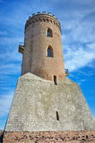 Chindia Tower from Royal Court - landmark attraction in Targoviste, Romania Stock Photography