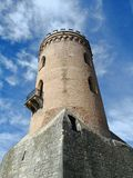 Chindia Tower - medieval Targoviste Royalty Free Stock Photography