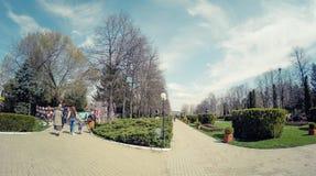 Chindiapark Targoviste Roemenië Stock Afbeelding