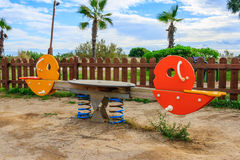 Chindren park. Natural and colorful children park Stock Photo