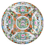 Chine plate Stock Image