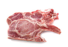 Chine pork chop Royalty Free Stock Images
