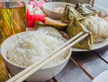 chinease new year food stock illustration