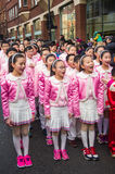 Chinede choir Royalty Free Stock Photos