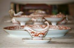 Chinees aardewerk stock foto