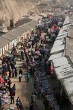 Chinees bazzar dorp Royalty-vrije Stock Afbeeldingen