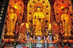 Chinees boeddhistisch heiligdom Stock Afbeelding