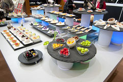 Chinees buffet stock foto's