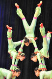 Chinees circus royalty-vrije stock foto