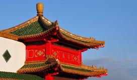 Chinees dak Royalty-vrije Stock Afbeeldingen