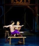 Chinees dansdrama: De Guerilla's van de spoorweg Royalty-vrije Stock Fotografie