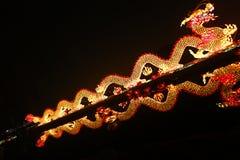 Chinees de lantaarnfestival van 2013 in de xi'an-draak Royalty-vrije Stock Foto's
