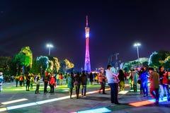 Chinees de lentefestival in guangzhou Stock Afbeeldingen