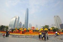 Chinees de lentefestival van 2012 in guangzhou Stock Foto