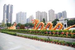 Chinees de lentefestival van 2012 in guangzhou Royalty-vrije Stock Foto's