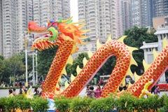 Chinees de lentefestival van 2012 in guangzhou Stock Fotografie