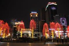 Chinees de lentefestival van 2013 in Chengdu Royalty-vrije Stock Afbeelding