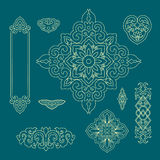Chinees decoratief patroon 2 Stock Afbeeldingen