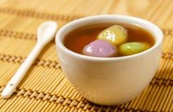 Chinees dessert Tang Yuan royalty-vrije stock foto